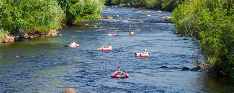tubing yampa river steamboat springs colorado