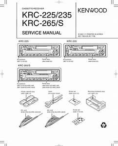 Kenwood Krc 225  235  265