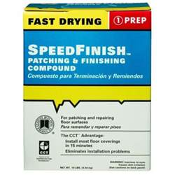 custom building products speedfinish 10 lb patching and