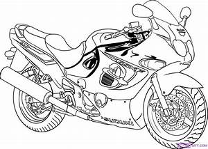 Motorcycle Coloring Pages - AZ Coloring Pages
