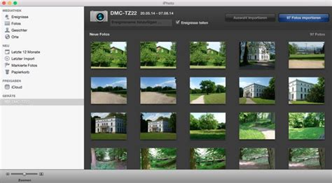 os  yosemite fotos von kamera importieren mac life