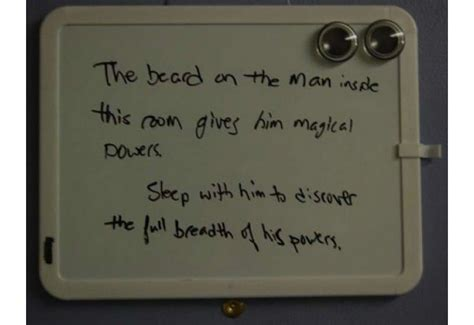 20 Funniest College Dorm Room Signs