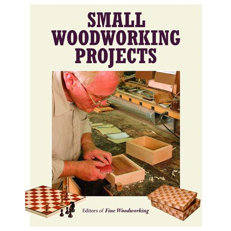 small woodworking projects woodworking project books