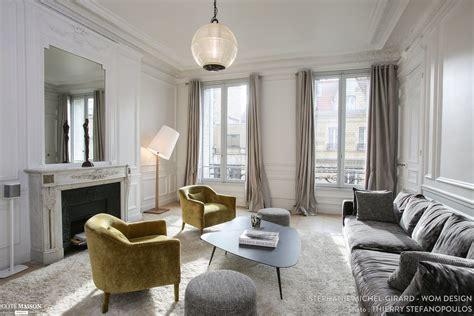 cuisine appartement parisien rénovation et décoration d 39 un appartement haussmanien de