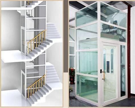 eje de vidrio pequeno ascensor  el hogar elevadores