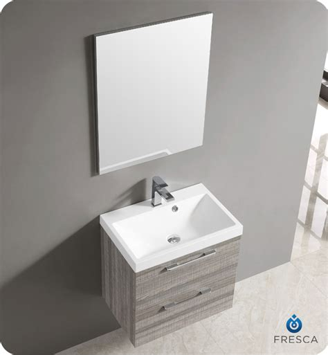 wall mount faucet bathroom vanity fresca fvn8506ma 24 quot wall mount matte modern bathroom