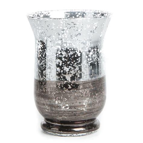 silver mercury glass candle holder candles  accessories primitive decor
