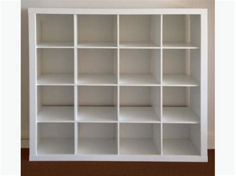 Ikea Expedit 4x4 by Ikea Expedit 4x4 Cube With 9 Lekman Boxes Oak Bay