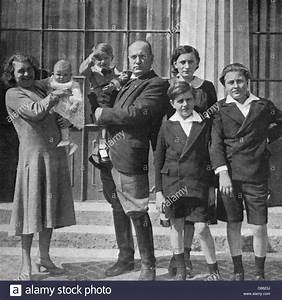 Mussolini And Family Stock Photo, Royalty Free Image ...