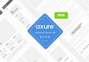 axure responsive template blog website 3 With axure tablet template