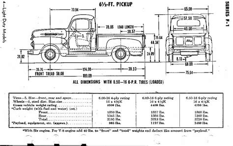 truck bed measurements ford truck enthusiasts forums