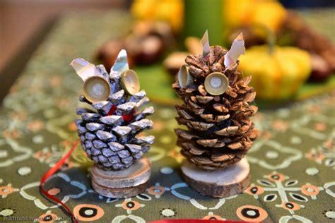 mit tannenzapfen basteln basteln mit tannenzapfen 50 diy ideen deko feiern diy weihnachtsdeko ideen zenideen
