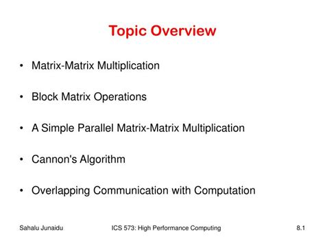 PPT - Topic Overview PowerPoint Presentation, free ...
