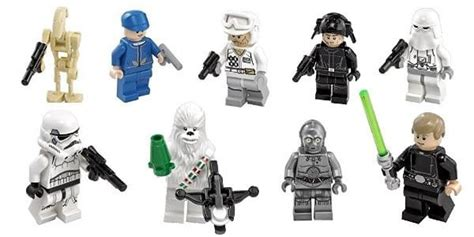 advent calendars lego le contenu des boites hoth bricks