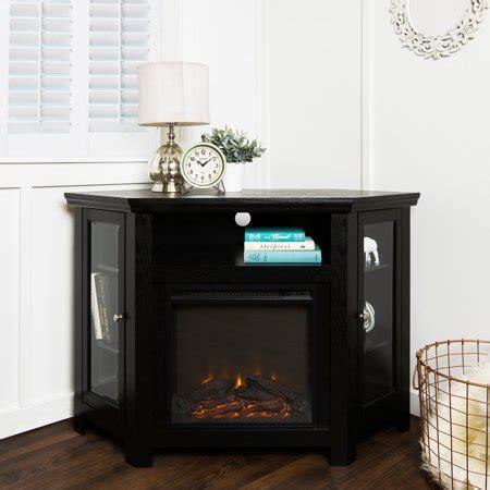 walker edison corner fireplace tv stand  tvs