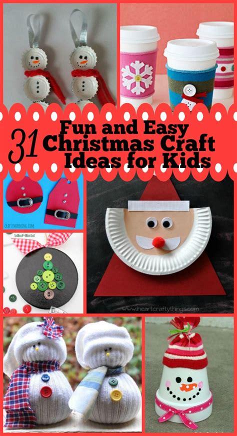 easy  fun christmas craft ideas  kids christmas