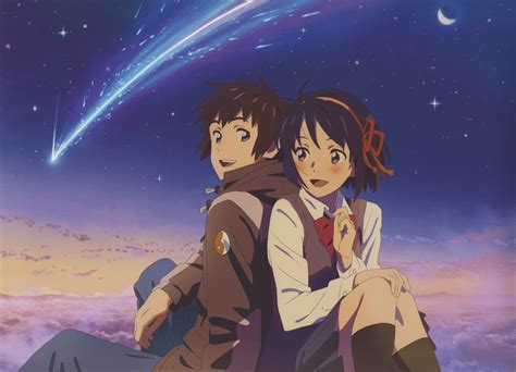 Anime Your Name Kimi No Na Wa Link 2016 Random Thoughts Kimi No Na Wa Your Name Image 2271687 Zerochan