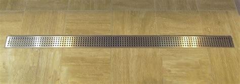 rectangular wetroom shower drain  side outlet mm