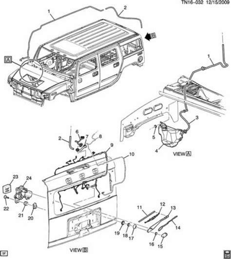 repair windshield wipe control 2005 hummer h2 parental controls 2003 2009 hummer h2 rear window wiper arm spacer cap new oem 15180183 15095326 factory oem parts