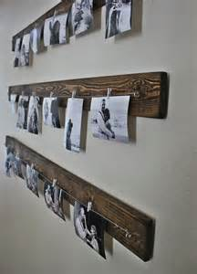 wandgestaltung selber machen rustic wall picture display you can get the line and at ikea in a whole set the