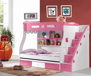 Girly bunk beds for kids and teenagers midcityeast for Girly bunk beds for kids and teenagers