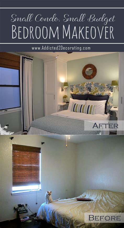 small condo small budget bedroom makeover