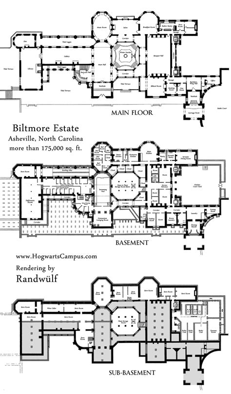Mansion Floor Plans Free Biltmore Estate Mansion Floor Plan Estate Plans Elevations Biltmore Estate