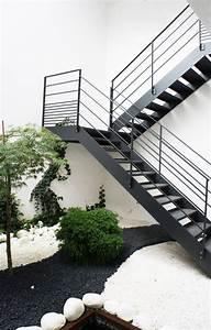 Escalier Exterieur Metal : escalier 2 4 tournant ext rieur toue en acier trait et ~ Voncanada.com Idées de Décoration