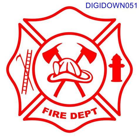 Fire cross volunteer fire hook fire ladders firemans badge maltese cross vector fire rescue shield gas mask logo crossed axe fire brigade logo fire department emblem. Maltese Cross Fire Dept Logo w/Hook Ladder by ...