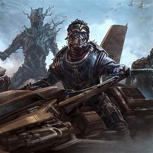 Guardians of the Galaxy Concept Art - Star-Lord and Groot ...