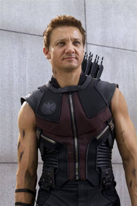 Jeremy Renner Hawkeye The Avengers See All