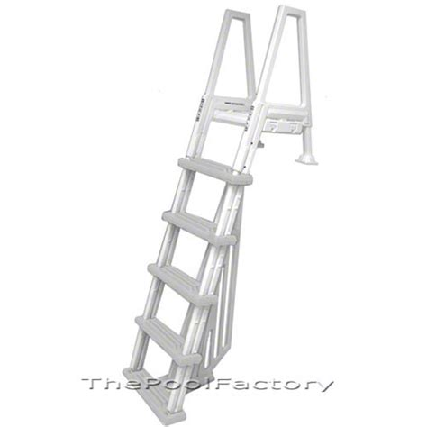 above ground pool ladder deck mounts deluxe inpool above ground swimming pool step ladder ebay