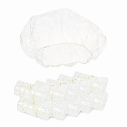 Shower Cap Caps Plastic Clear Disposable Walmart