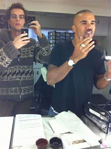 Matthew & Shemar - Criminal Minds Photo (17194891) - Fanpop
