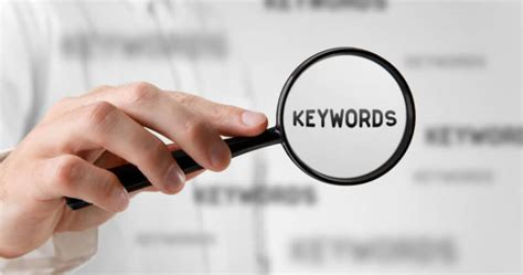 How To Choose The Right Keywords To Optimize For Search