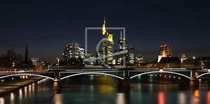 Skyline Frankfurt Bild : skyline frankfurt panorama als leinwand von dbphotog ~ Eleganceandgraceweddings.com Haus und Dekorationen