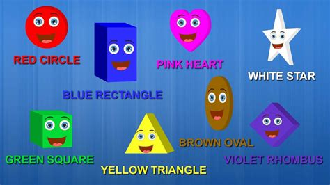 colors and shapes lyrics shapes colors song the shapes song learn shapes and