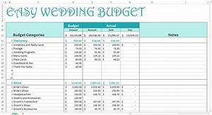 easy wedding budget excel template savvy spreadsheets With good wedding budget