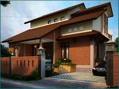 model rumah kampung etnik jawa  cantik