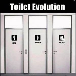 Toilet evolution funny pictures quotes memes jokes for Funny bathroom jokes