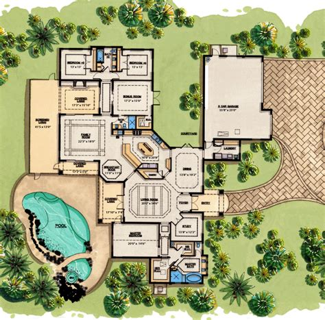 mediterranean mansion floor plans naumi free shed plans from home depot