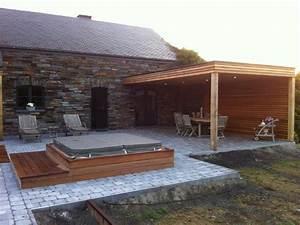 Spa Bois Exterieur : hammam exterieur bois maison design ~ Premium-room.com Idées de Décoration