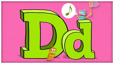 abc song  letter  dee doodley   storybots