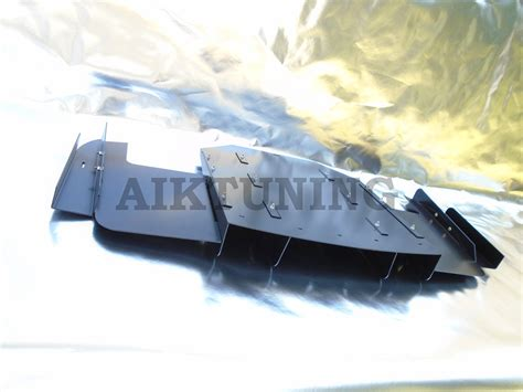 bmw e36 m3 rear bumper diffuser performance cover durable aluminium skirt ebay