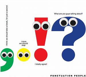 E is for Explore!: Punctuation People