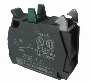 Telemecanique    Square D Zbe101 Pushbutton With 1 No