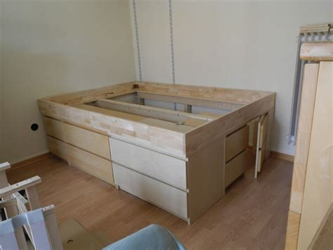 malmus maximus hacking malms  lerbaeck  storage bed
