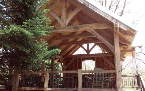 Timber Framed Pavilions handcrafted by MoreSun