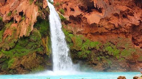 Cliff Jumping Havasupai Supai Grand Canyon Arizona