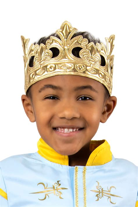 Prince Soft Crown Gold - Little Adventures